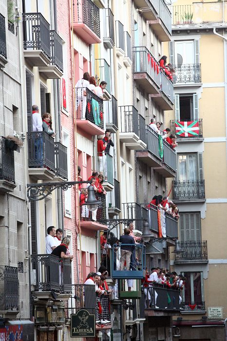 Balconies in Pamplona